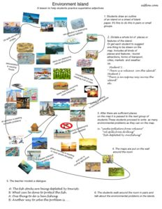 Environmental island teaching idea