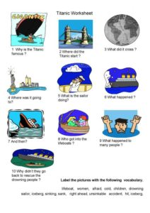 Titanic-lesson-worksheet