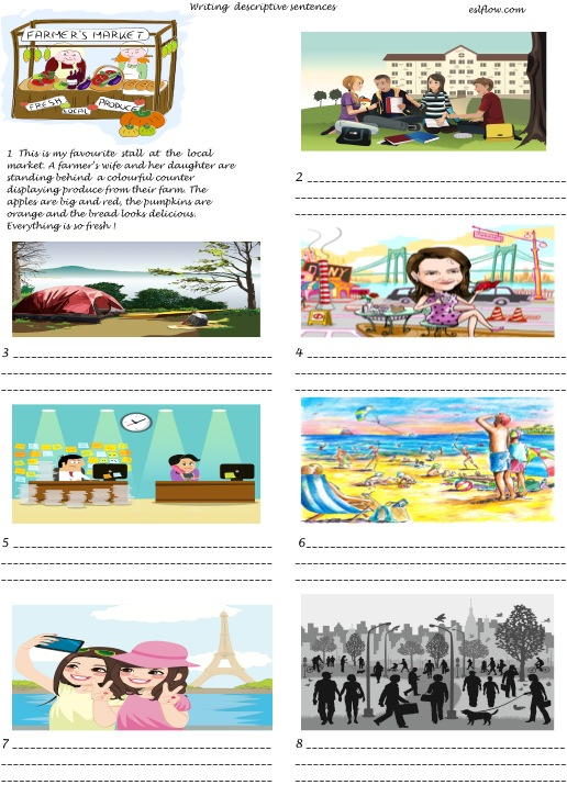 descriptive writing exercises Here are ten of the best creative writing exercises to inspire you to start (and finish) that book 1 7x7x7 find the 7th book from your bookshelf (or digital library) open it up to page 7 look at the 7th sentence on the page begin a paragraph that begins with that sentence and limit the length to 7 lines repeat.