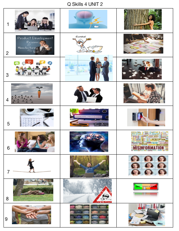 Q Skills 4 Unit 2 2nd Edition Listening And Speaking Vocabulary