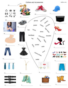 Clothes, fashion and accessories vocabulary