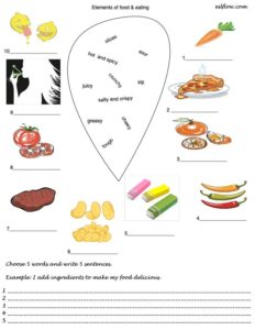 11 Fabulous Food and Eating Language and Vocabulary Exercises.