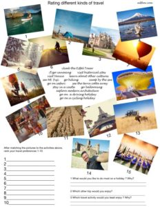 5 Terrific Travel and Tourism Language and Vocabulary Lessons